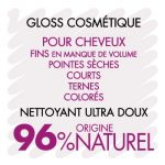 Shampooing soin gloss cosmétique